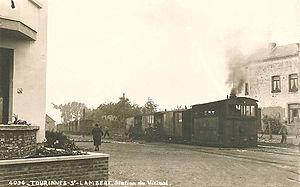 Vicinal tramway - Image: Tourinnes bew