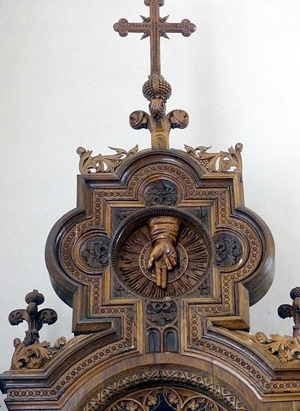File:Traberg Pfarrkirche - Marienaltar 8 Auszug.jpg