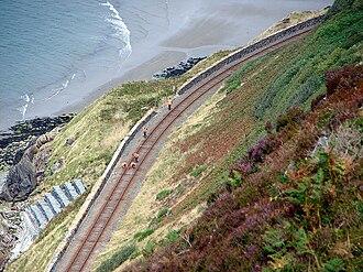 Friog - Track repairs, Friog