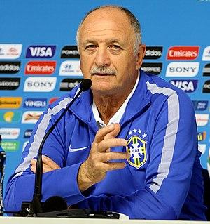 Luiz Felipe Scolari - Image: Training Brazilian national team before the match against Croatia at the FIFA World Cup 2014 06 11 (2)
