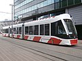 Tram 508 at Bigbank in Tallinn 24 June 2018.jpg