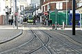 Tram Lines in Church Street, Croydon - geograph.org.uk - 1554481.jpg