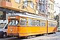 Tram in Sofia near Central mineral bath 2012 PD 005.jpg