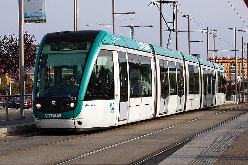 Tramway de barcelone 1