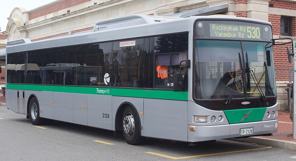 Transperth Volgren CR228L bodied Volvo B7RLE