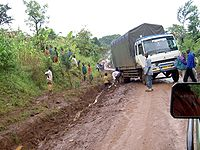 200px Transportation in Tanzania Traffic problems.JPG