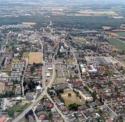 Traun Luftbild Zentrum.jpg