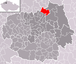 Location of Třebušín