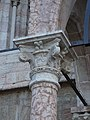Trento-Cathedral of Saint Vigilius-capital northern entrance.jpg
