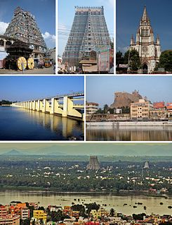 Tiruchirappalli City in Tamil Nadu, India