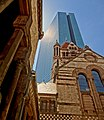 Trinity Church and Hancock Tower, Boston, Massachusetts.jpg