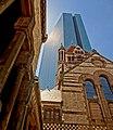 Trinity Church and Hancock Tower, Boston, Massachusetts.jpg
