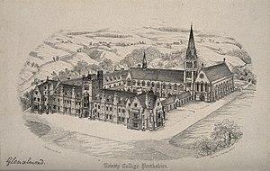 Glenalmond College - Glenalmond College, architect's original proposed design c. 1841
