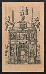 Triomfboog van Genua (voorzijde)