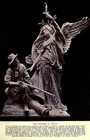 Allen George Newman - The Triumph of Peace (1911), Atlanta, Georgia
