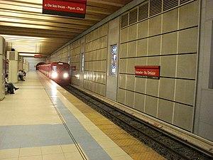 Tronador - Villa Ortúzar (Buenos Aires Underground) - Image: Tronador (Subte de Buenos Aires)