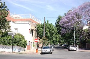 Villa Urquiza - Residential section at Calle Tronador and Avenida Congreso