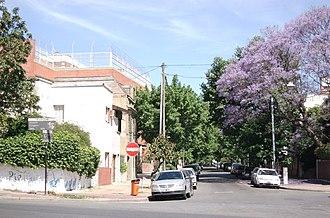 Villa Urquiza - Residential section at Calle Tronador and Avenida Congreso