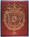 Trumpetfana med Polen-Litauens vapen - Livrustkammaren - 13779.tif
