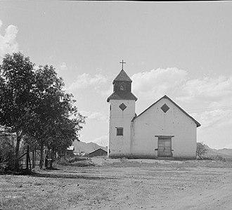 Tubac, Arizona - St. Ann's Church, Tubac, 1937