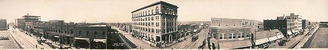 Tulsa, Oklahoma in 1909.