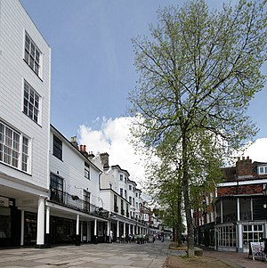 Royal Tunbridge Wells - Image: Tunbridge wells pantiles