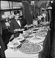 Turkey in London- Life at the Istanbul Restaurant, Frith Street, London, 1943 D13598.jpg
