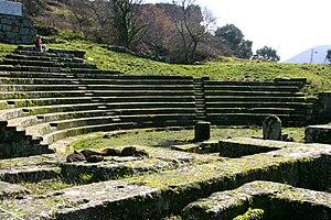 Cato the Elder - The theatre at Tusculum