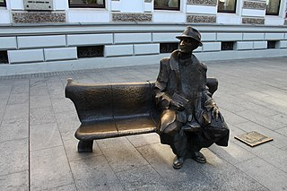 Julian Tuwim Monument, Łódź new Tuwim monument
