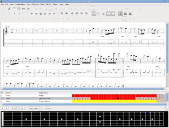 TuxGuitar - Image: Tuxguitar screenshot