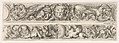 Two Designs for Friezes with Acanthus Scrolls, Each with a Variant, Plate 4 from- 'Decorative friezes and foliage' (Ornamenti di fregi e fogliami) MET DP833568.jpg