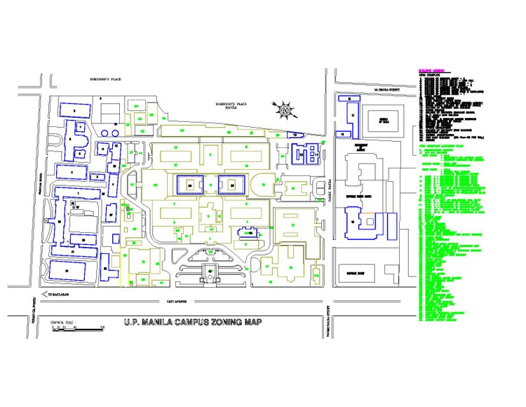 Udm Campus Map.University Of The Philippines Manila Wikivividly