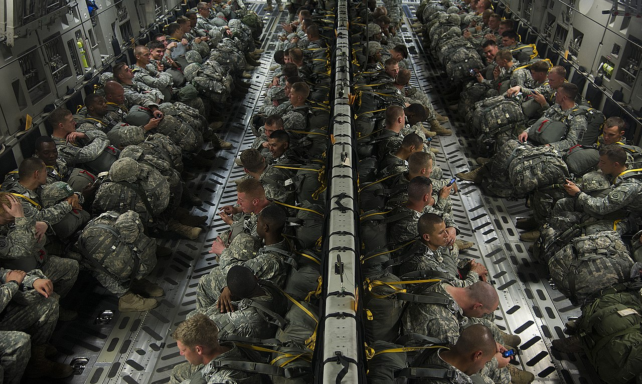 file u s  army paratroopers with the 3rd battalion  319th