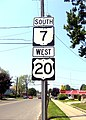 U.S. Route 20 and Ohio State Highway 7 Sign.jpg