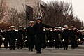 U.S. Sailors with the U.S. Navy Band participate in a dress rehearsal for the presidential inaugural parade in Washington, D.C 130113-A-TT968-138.jpg