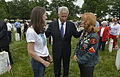 U.S. Secretary of Defense Chuck Hagel visits with Gold Star family members as he visits Section 60 of Arlington Memorial Cemetery during the 145th annual Memorial Day observance at Arlington National Cemetery 130527-D-NI589-660.jpg