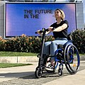 UNAwheel Mini Active wheelchair power add-on in Los Angeles 5.jpg