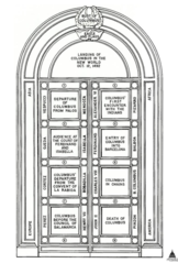 Other resolutions 162 × 240 pixels ...  sc 1 st  Wikimedia Commons & File:USA Capitol - Columbus Doors Drawing AOC.png - Wikimedia Commons pezcame.com