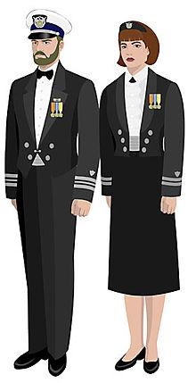 Royal navy mess dress