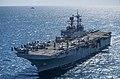 USS Bonhomme Richard transits near the Royal Australian Navy ship. (35646532324).jpg