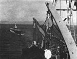 USS Dragonet (SS-293) being towed to Norfolk in 1961.jpg