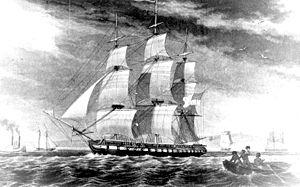 USS Hudson (1826) - Image: USS Hudson 1826