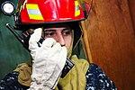 USS Ronald Reagan sailors conduct damage control drill 120512-N-MZ733-100.jpg