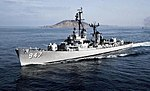 USS Somers (DD-947) underway off Point Loma, California (USA), circa in the early 1960s.jpg