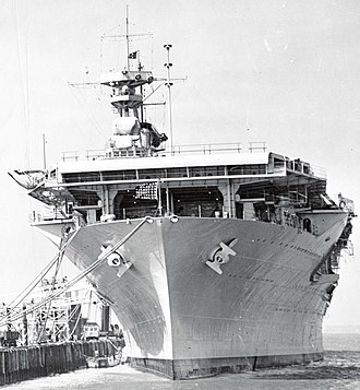 Naval Station Norfolk - USS Yorktown (CV-5) docked at then–NOB Norfolk in October 1937