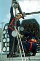 US Navy 011011-N-0685W-003 USS Kitty Hawk Fire Controlmen.jpg