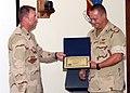 US Navy 051101-F-0000W-001 Deputy Commander, 379th Expeditionary Medical Group, U.S. Air Force Lt. Col. Daniel Flynn.jpg