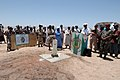 US Navy 060424-N-9500T-002 Commisar of the Dikhil region of Djibouti, Africa, Mr.Moussa Djama, addresses the crowd during a well dedication.jpg