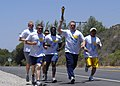 US Navy 070614-N-8607R-043 Sailors from Naval Base Ventura County's Force Protection Department participate in the 2007 Southern California Law Enforcement Torch Run.jpg
