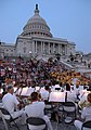 US Navy 070618-N-7154R-008 The U.S. Navy Band performs a Monday evening concert June 7, 2007 on the West steps of the U.S. Capitol.jpg